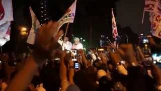 Prabowo Hatta 39 s night at Mahkamah Konstitusi MK