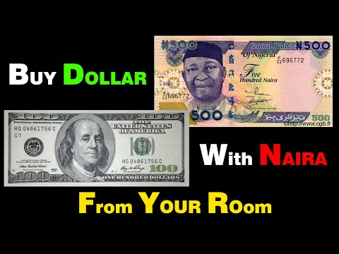 BUY REAL DOLLARS $ With NAIRA ₦ From Your Room! NEVER GO TO ABOKI!