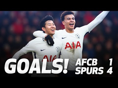 GOALS | AFC BOURNEMOUTH 1-4 SPURS