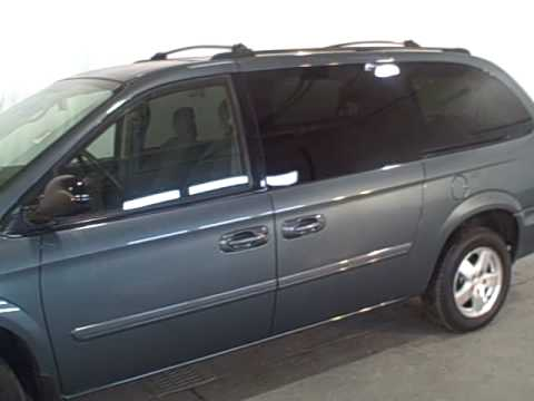 2006 Dodge Caravan Sxt D421l Youtube