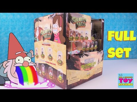 Disney Gravity Falls Original Minis Domez Blind Bag Collectible Minis Toy Review | PSToyReviews