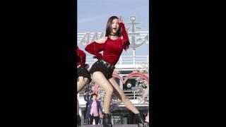 161009 달샤벳 (Dalshabet) 우희 직캠 - Mr. BangBang (여의도 버스킹) By 애니닷