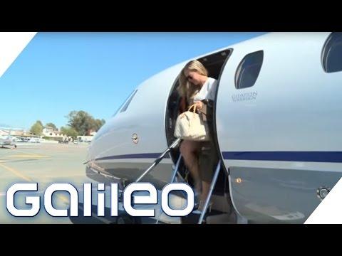 Luxusreisen: Der Privatjet für jeden | Galileo | ProSieben