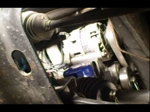 2007 Chevy Cobalt Wiring Diagram Starter Alternator Removal Youtube