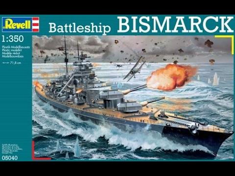 DKM Battleship Bismarck 1:350 Scale Model Build Intro