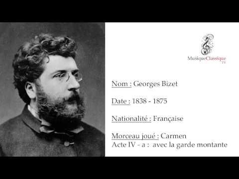 ♬ CARMEN, ACTE IV - A, AVEC LA GARDE MONTANTE ♬ | GEORGES BIZET | MUSIQUE CLASSIQUE TV ♬