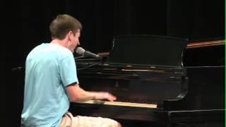 "Diamond Piano student Sean Magee performs his original song ""Americ..."