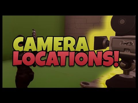 Fortnite: Film / Movie Camera Locations