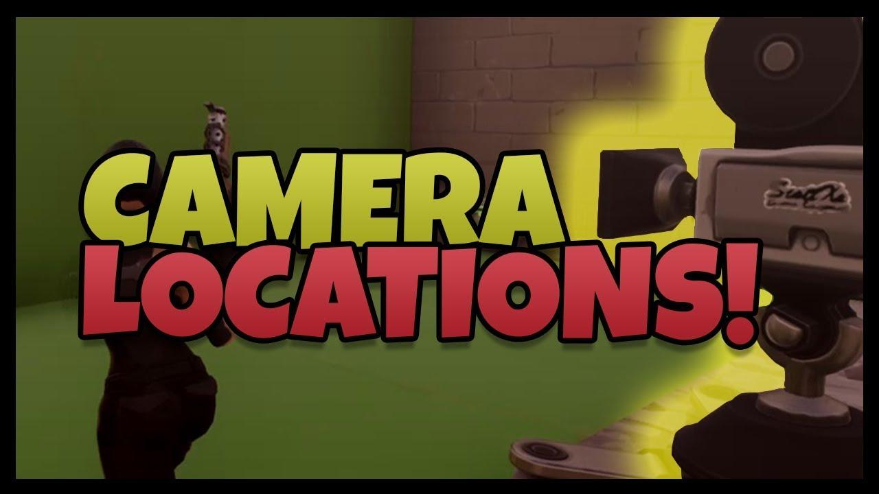 Fortnite Film Movie Camera Locations Dance In Front