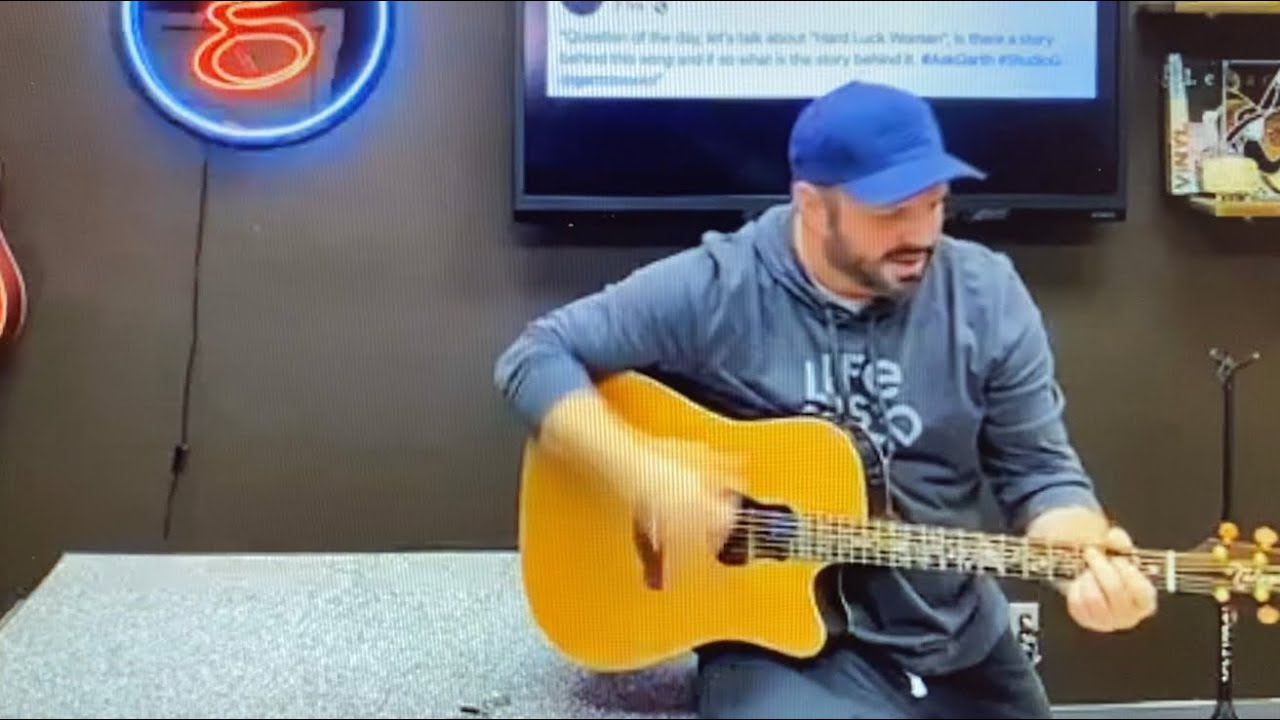 Garth Brooks talks about KISS and Hard Luck Woman March 2020