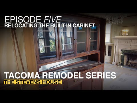 Anne Curry Homes | TACOMA REMODEL SERIES //EPISODE FIVE: Relocating The Built-in Cabinet