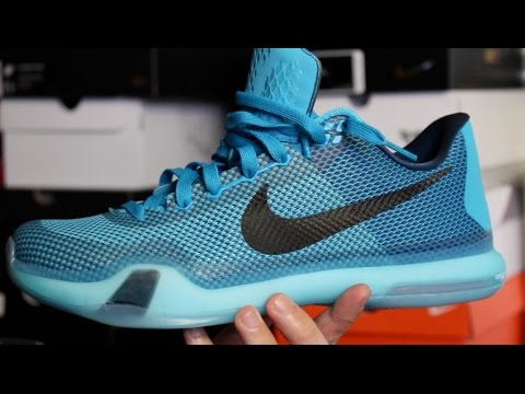 ce2f8c3b2f9c Nike Kobe X (10)  Blue Lagoon     5a.m. Flight  - YouTube