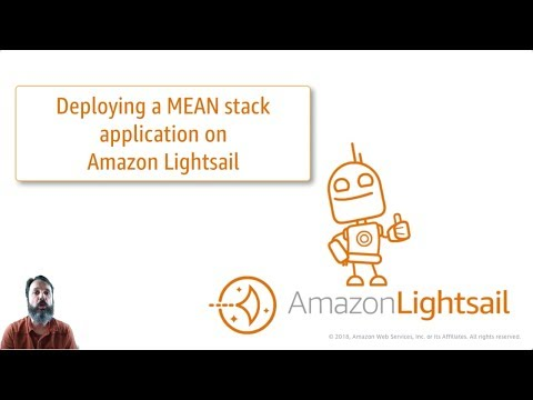 Deploying a Mean Stack Application on Amazon Lightsail