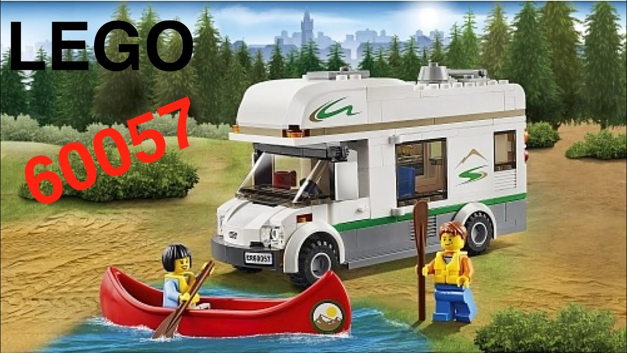 lego 60057 le camping car lego city youtube. Black Bedroom Furniture Sets. Home Design Ideas