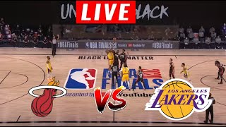 [LIVE] Los Angeles Lakers vs Miami Heat Full Game | Game 5 | 2020 NBA Finals