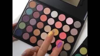 kara eyeshadow palettes summer colors