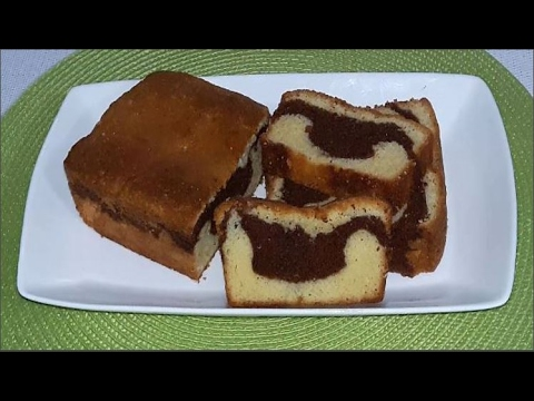 Marble cake recipe easy way to make at home in bangla for Easy method of making cake