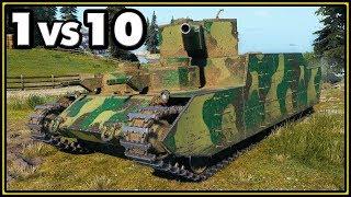 O-I - 14 Kills - 1 vs 10 - World of Tanks Gameplay