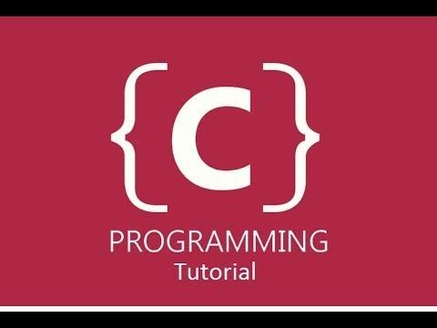 C Programming for Beginners Tutorial - Part: 1