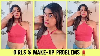 Girls And Make-Up Problems 😂 | Anisha Dixit | #Shorts