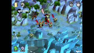 Skulls of the Shogun for iOS Gameplay