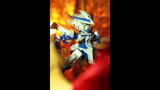 [PAPERCRAFT] SD Gundam Astray Blue Frame 2nd Revise