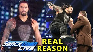 Real Reasons Why Roman Reigns Moved to SmackDown in Superstar Shake Up and Punched Vince McMahon