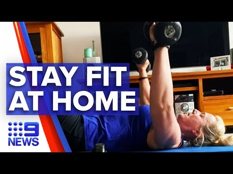 Sales Of Exercise Equipment And In-home Workout Programs Increase | Nine News Australia