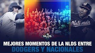 Mejores momentos entre los Dodgers y los Nacionales