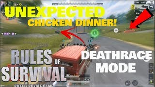 UNEXPECTED WINNING (DEATHRACE MODE) (RULES OF SURVIVAL)