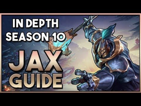 How To Play: JAX Top Lane Guide For SEASON 10 League Of Legends