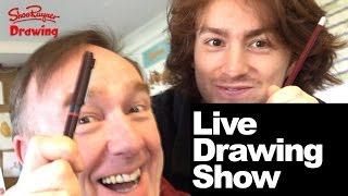 Shoo Rayner Live Stream - Drawing challenge with my son TED