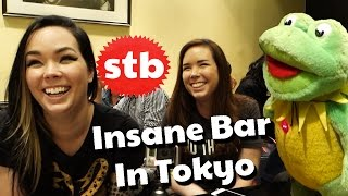 Game Grumps in Japan: Crazy Bar with Egoraptor, Mort3mer, JeanBug, & SoloTravelBlog