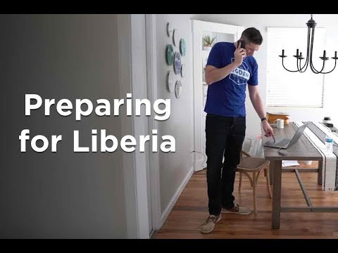 Preparing to go visit Liberia