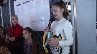Осінній ярмарок у ЗОШ № 3 до дня захисника України