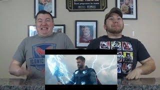 Avengers: Endgame - Official Trailer #2 REACTION!!!
