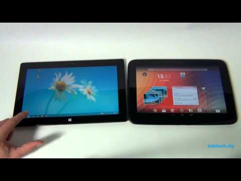 Google Nexus 10 vs. Microsoft Surface - Deutsch