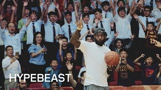 LeBron James on Becoming the Face of the NBA