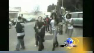 40 Vallejo High School Students Wash Man Up After He Tried To Confront A Gang Of Kids!