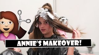 Annie's Makeover 💇 (WK 389.3) | Bratayley