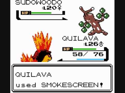Pokemon silver playthrough 10 sudowoodo the failure - Evolution pokemon argent ...
