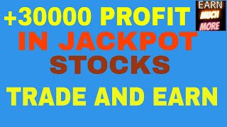 "+30000 PROFIT TODAY IN JACKPOT SHARE - DON""T MISS JACKPOT SHARES"