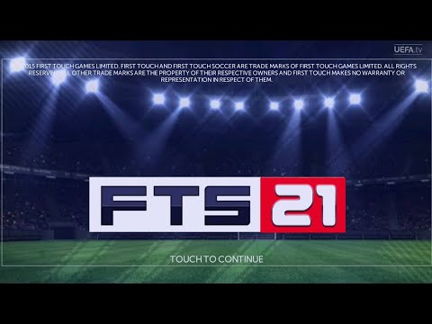 FTS 21 Android Offline 300 MB HD Graphics First Touch Soccer 2021