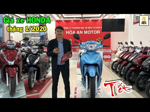 Hỏi Giá Xe HONDA Giáp TẾT 2020 Cực RẺ Cùng TOP 5 Tại Honda Hòa An - Lai Châu 🔴 TOP 5 ĐAM MÊ