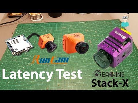 Eachine Stack X, RunCam Split 2 & Eagle 2 Pro Latency Test