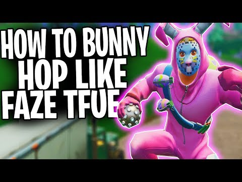 "HOW TO: Jump Fast In Fortnite Battle Royale! | ""Bunny Hop Like FaZe TFue"""