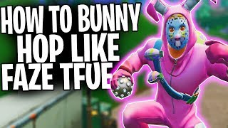 HOW TO: Jump Fast In Fortnite Battle Royale! |