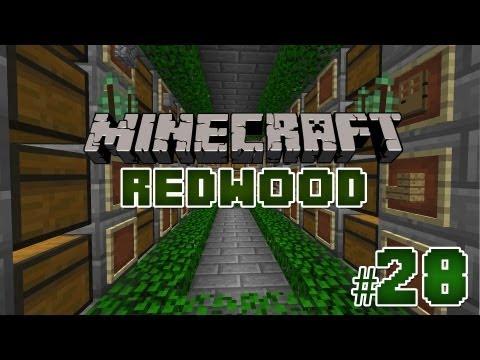 Salle des coffres ! - Episode 28   Serveur Redwood   Minecraft