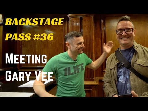 BACKSTAGE PASS #36 - MEETING GARY VEE - A Vlog by a Dude working in Los Angeles Real Estate