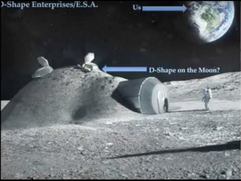 3D Printed Houses on the Moon? | BW Lightbulb